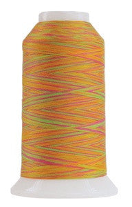 OMNI VARIEGATED - TEX 30 POLY - 2,000 YD CONE - GLOW STICK #9043