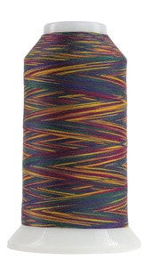OMNI VARIEGATED - TEX 30 POLY - 2,000 YD CONE - HARLEQUIN #9003