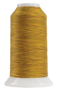 OMNI VARIEGATED - TEX 30 POLY - 2,000 YD CONE -LEO THE LION #9130