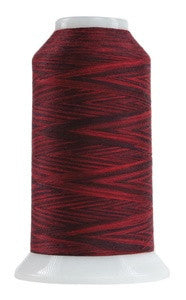 OMNI VARIEGATED - TEX 30 POLY - 2,000 YD CONE - RED ROBIN #9074