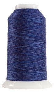 OMNI VARIEGATED - TEX 30 POLY - 2,000 YD CONE - TEMPEST BLUE #9121