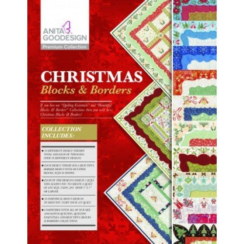 Anita Goodesign - Premium Collection - Christmas Blocks & Borders