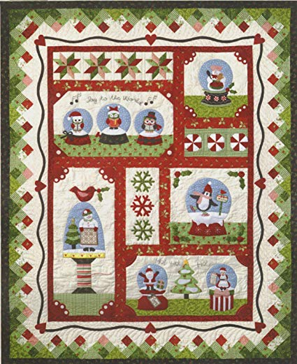 Snow Globe Village Quilt Club