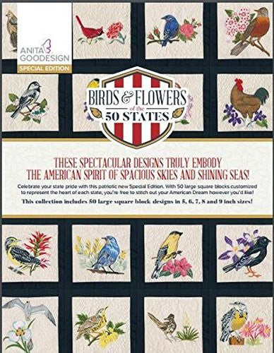 Anita Goodesign - Special Edition - Birds & Flowers of the 50 States