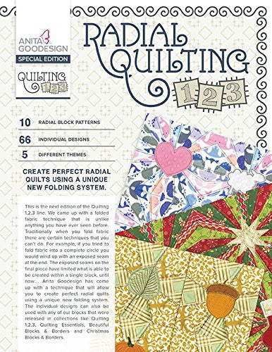 Anita Goodesign - Special Edition - Radical Quilting 1,2,3