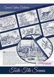 Anita Goodesign - Special Edition - Toile Tile Scenes