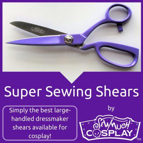 Super Sewing Shears by Sew Much Cosplay