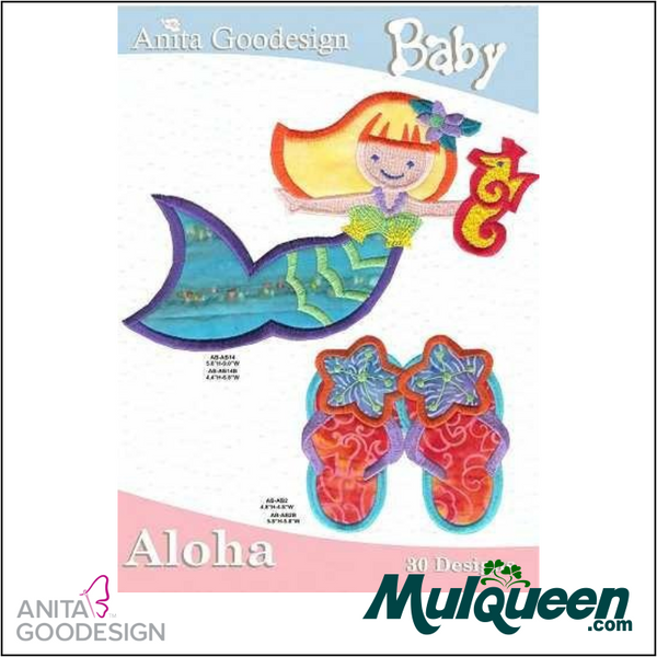 Anita Goodesign - Baby Collection - Aloha