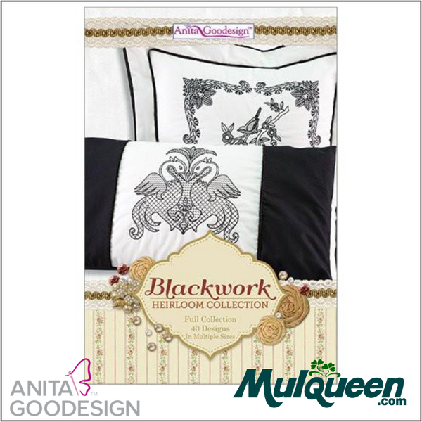 Anita Goodesign - Heirloom Collection - Blackwork