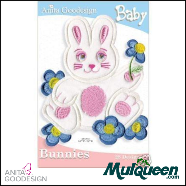 Anita Goodesign - Baby Collection - Bunnies