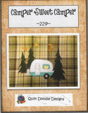 Camper Sweet Camper Embroidery File