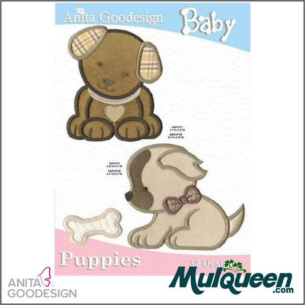 Anita Goodesign - Baby Collection - Puppies