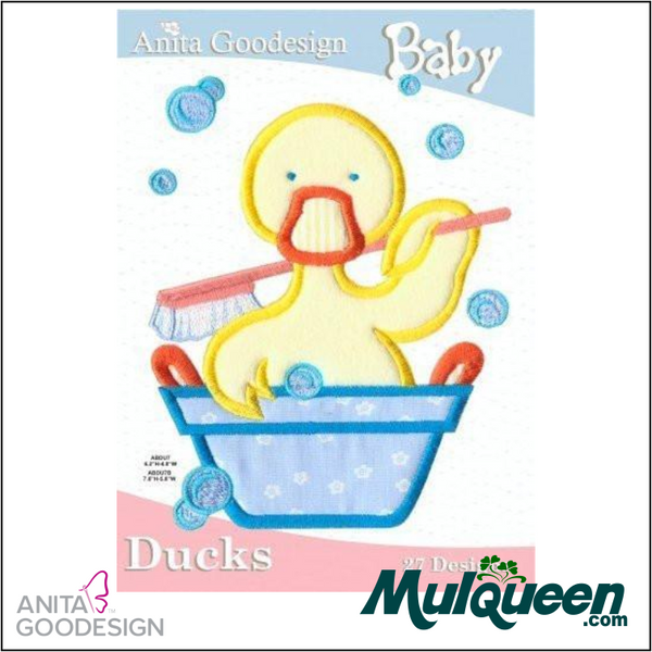 Anita Goodesign - Baby Collection - Ducks