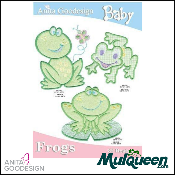 Anita Goodesign - Baby Collection - Frogs
