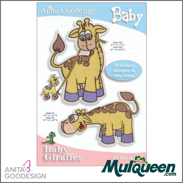 Anita Goodesign - Baby Collection - Giraffes
