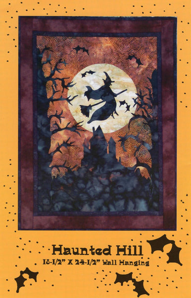 "Haunted Hill 18.5"" x 24.5"" Wall Hanging Kit"