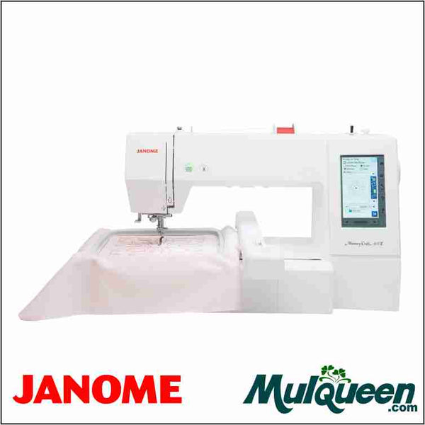 Janome 400e Embroidery Machine from Mulqueen.com