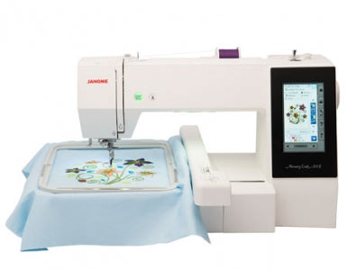 Janome - Skyline S9 & Memory Craft 500E Operations Class - Embroidery