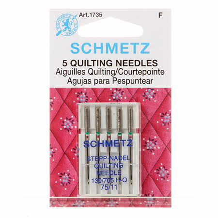 Schmetz Quilting Machine Needle Size 75/11