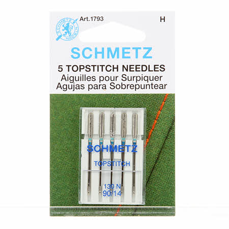 Schmetz Topstitch Machine Needle Size 90/14