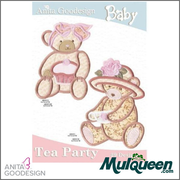Anita Goodesign - Baby Collection - Tea Party
