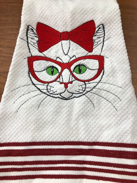 Learn How to Embroider on Towels