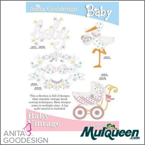 Anita Goodesign - Baby Collection - Vintage