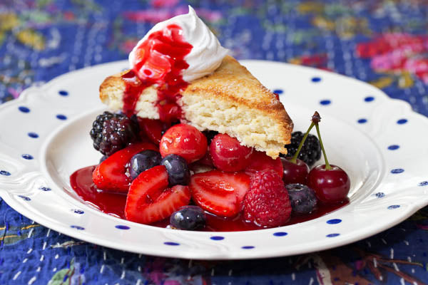 Late Summer Shortcake