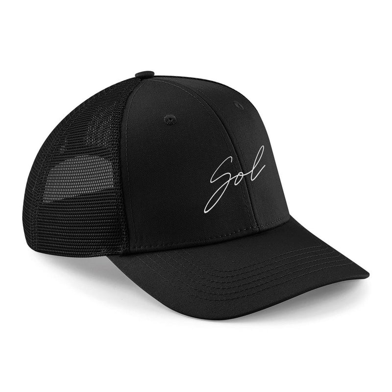 SOL Trucker Hat Black