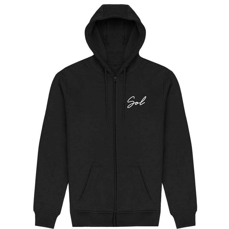 Signature Zip-Up - Black