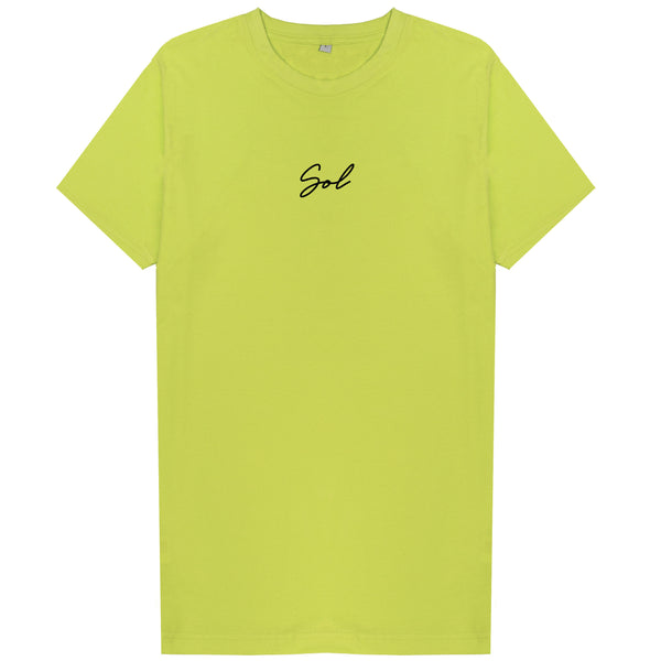 Signature Tee - Frozen Yellow
