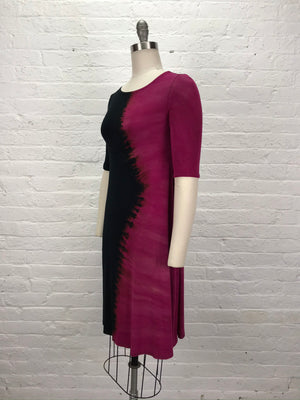 LUCILLE DRESS in Hot Lava Ying Yang