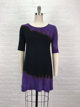 LUCY TUNIC in Amethyst Double Drift