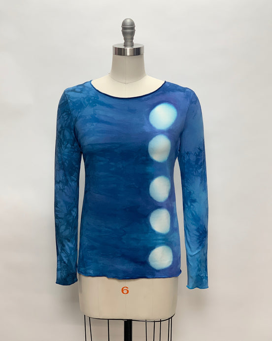 JESSIE TOP in Leftover Blues Eclipse