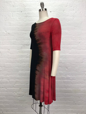 LUCILLE DRESS in Hot Chili Ying Yang
