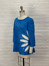 AUDREY TUNIC in SKY BLUE FLOWER
