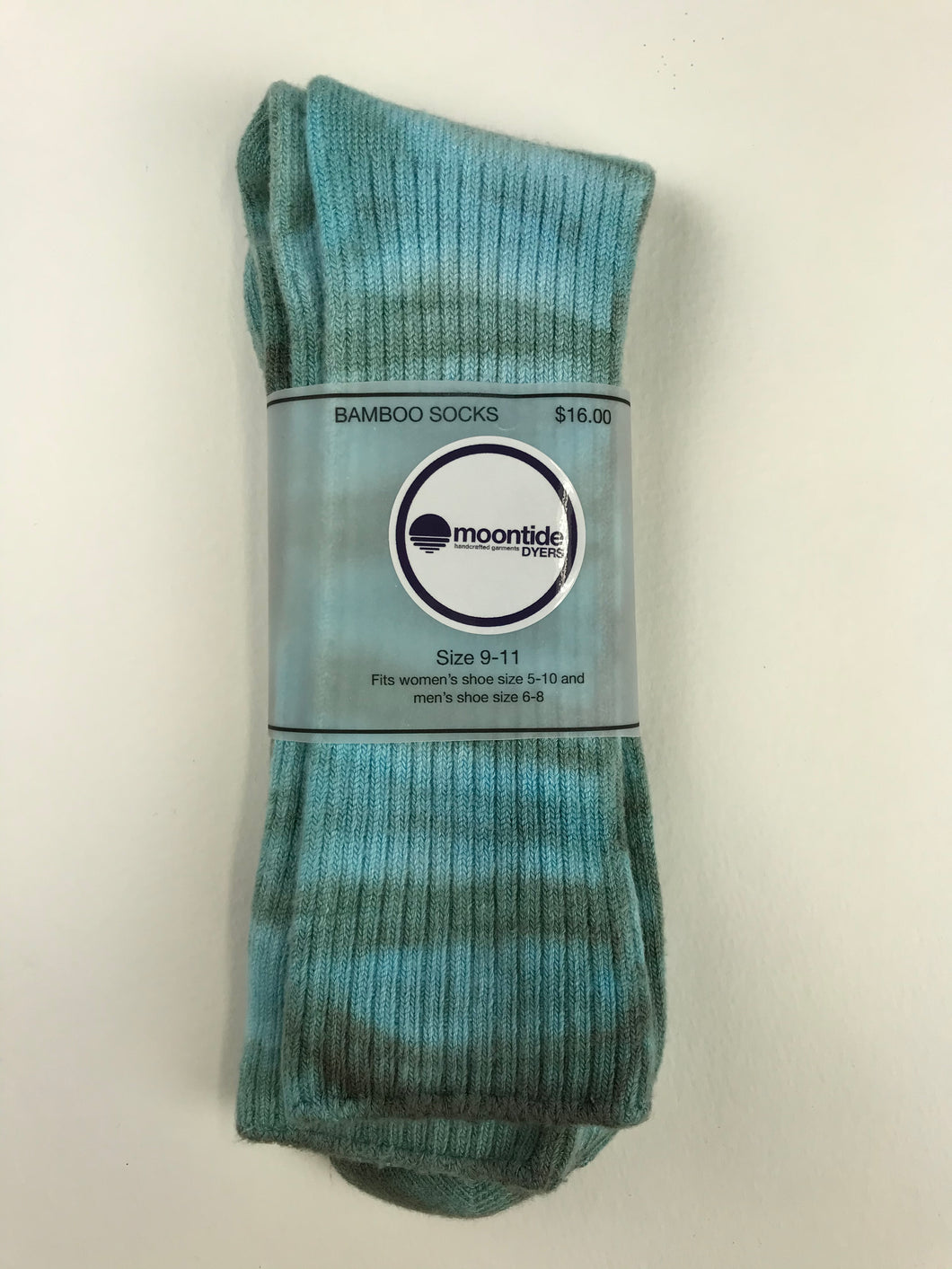 Bamboo Socks in Moon Mountain Adult Size