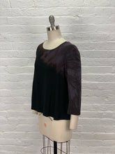 BETSY TOP in Dark Orchid Drift