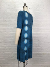 LUCILLE DRESS in Feather Blue Eclipse