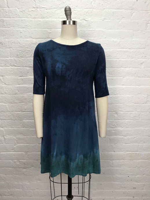 LUCY TUNIC in Ocean/Blueberry Drift