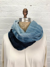 Velvet Double Cowl Warmer in Polar Depths