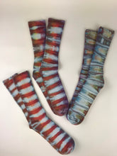 Bamboo Socks in Spicy Tiger Adult Size