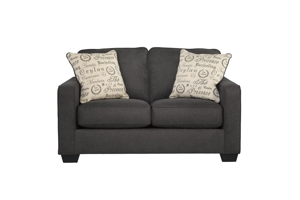 Alenya Charcoal Loveseat