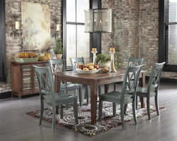 Mestler 7PC Dining Room Set