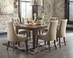 Mestler 7PC Dining Room Set UPH Chairs