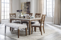 Narvilla 6PC Dining Room Set