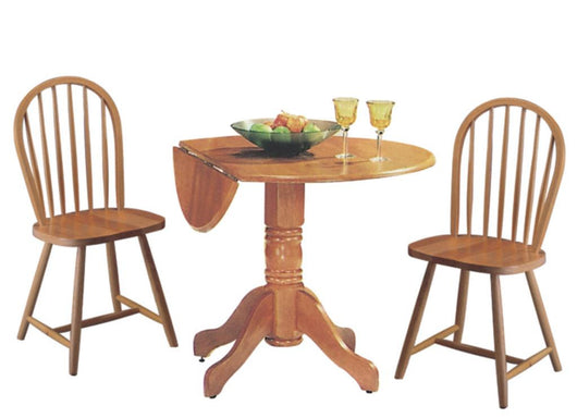 3146NN Round Drop Leaf Table Set