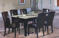 3141M Faux Marble Top Table Set