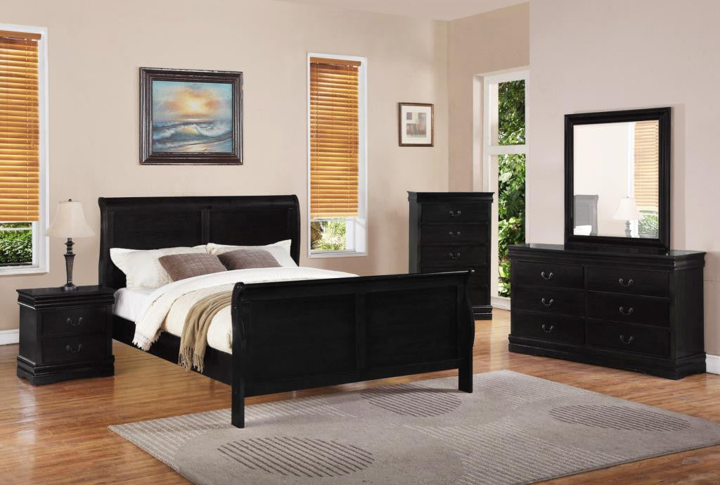 B298 Black Bedroom Set