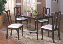 3133 Queen Anne Cherry 5PC Table Set